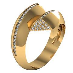 Barbara Nanning & Sparkles Diamond Gold Ring