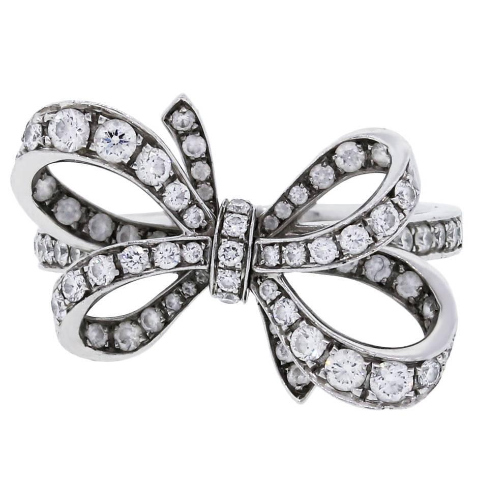 crystals silver jewelry new from ring cute item women rings beagloer bow engagement ri in color fashion austrian wedding