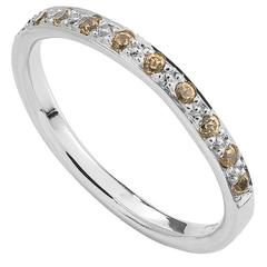 Milena Kovanovic Spessartine Gold Half Eternity Band Ring