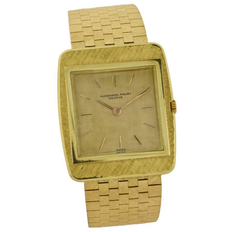 Audemars Piguet Yellow Gold Manual Dress Watch