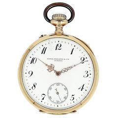 Patek Philippe Yellow Gold Pocket Watch