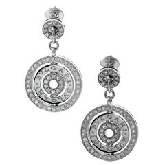 Bulgari Astrale Diamond Gold Earrings
