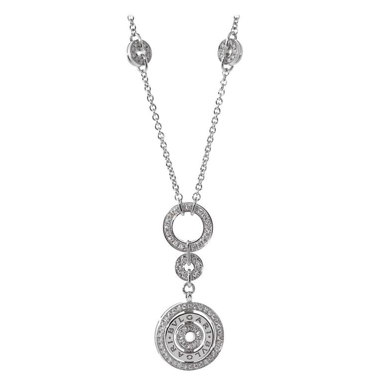 Bulgari Astrale Diamond Gold Necklace 1