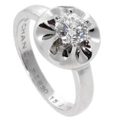 Chanel Solitaire Diamond Platinum Ring