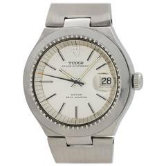 Tudor Stainless Steel Prince Oysterdate Wristwatch Ref 9101/0