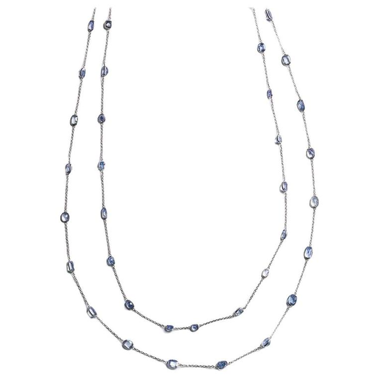 Sapphires By The Yard Long Chain For Sale