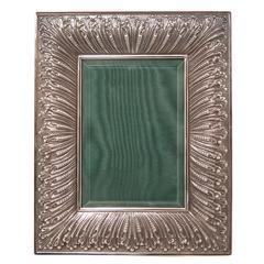 Buccellati Silver Linenfold Picture Frame
