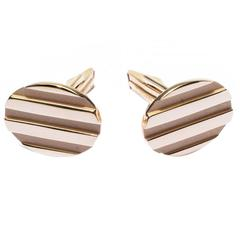 Tiffany & Co. Gold Cufflinks