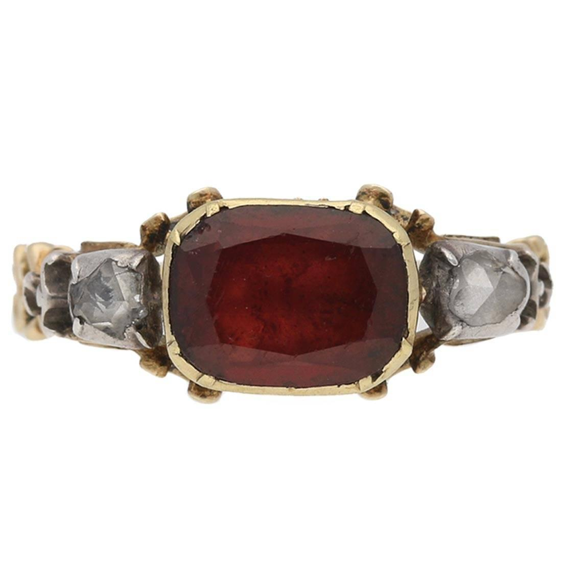 collections stones oval cushion side featuring an pear ruby ring classic a cut rings diamond with maroon graff shape rudy