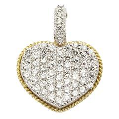 Stambolian Diamond Gold Heart Enhancer