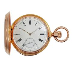 Patek Philippe Yellow Gold 5-Minute Repeater Pocket Watch