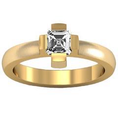 Christoph Blatter & Sparkles Diamond and Gold Ring