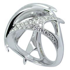Diamond Pave Gold Venus Flytrap Ring