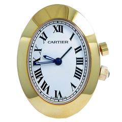 Cartier Miniature Travel Desk Clock