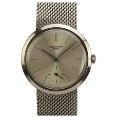 Patek Philippe Stainless Steel Wristwatch Ref 3419