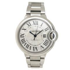 Cartier Stainless Steel Ballon Bleu Automatic Wristwatch