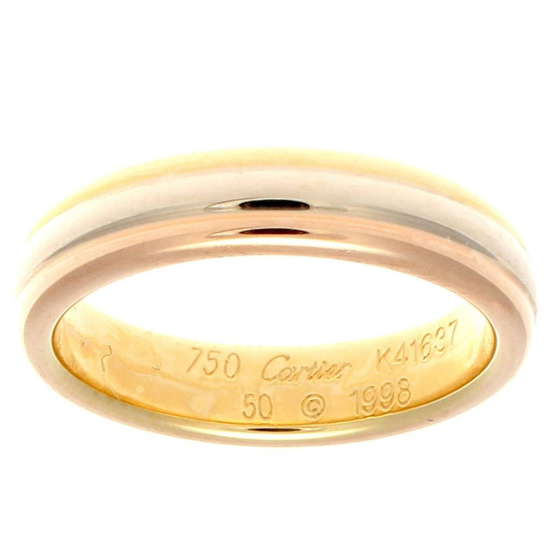 ring gold cartier image rings set in yellow from diamond
