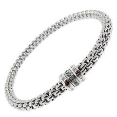 Fope Flex-it Diamond Gold Bracelet