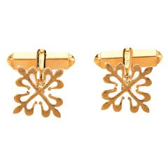 Patek Philippe Gold Calatrava Cross Cufflinks