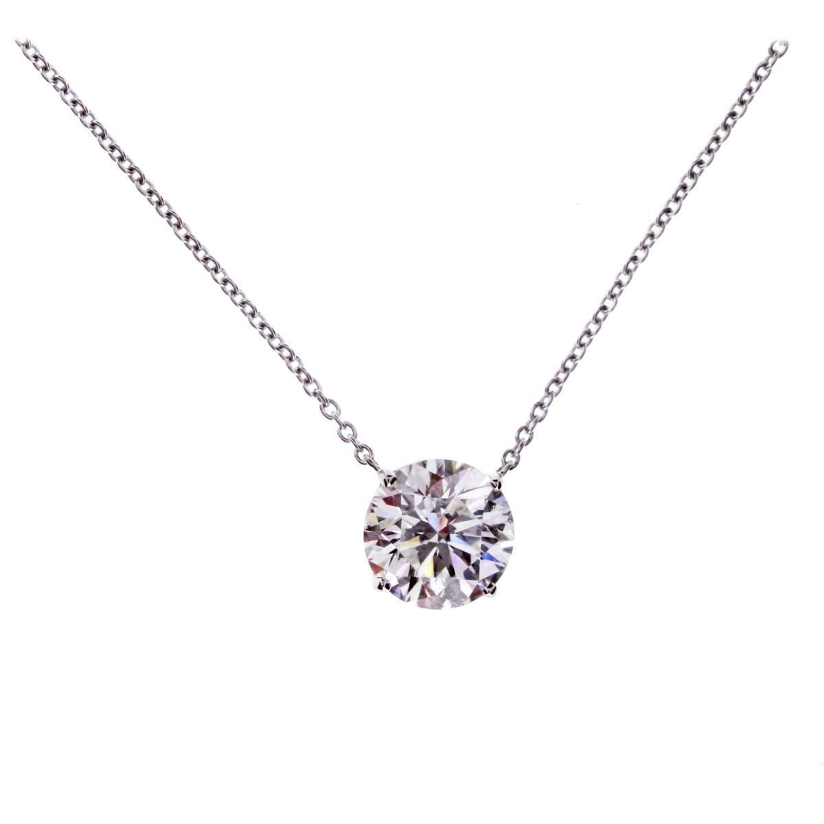 Graff Diamond Solitaire Necklace