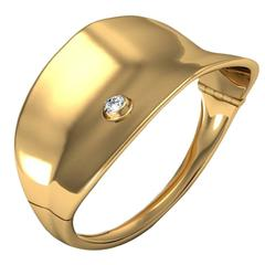 Ini Archibong & Sparkles Diamond and Gold Bracelet