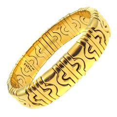 Bulgari Gold Bangle Bracelet