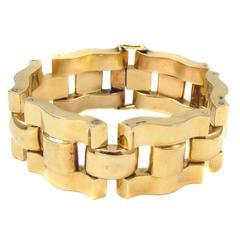 Retro French Gold Bracelet