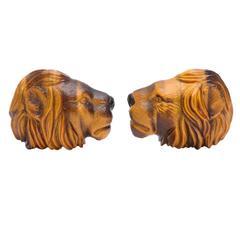Michael Kanners Lion Cufflinks