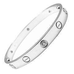 Cartier 6 Diamond Gold LOVE Bangle Bracelet