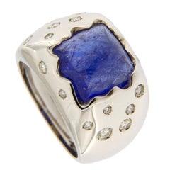 Jona Tanzanite Diamond Gold Ring