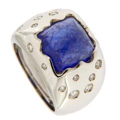 Jona Tanzanite Diamond Gold Ring