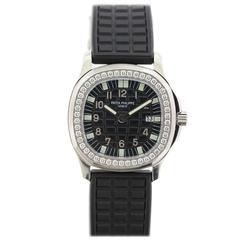 Patek Philippe Lady's Stainless Steel Diamond Aquanaut Wristwatch Ref 4961A