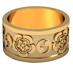 Lidy Peters & Sparkles Gold Ring