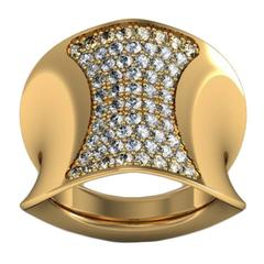 Ini Archibong & Sparkles Diamond and Gold Ring