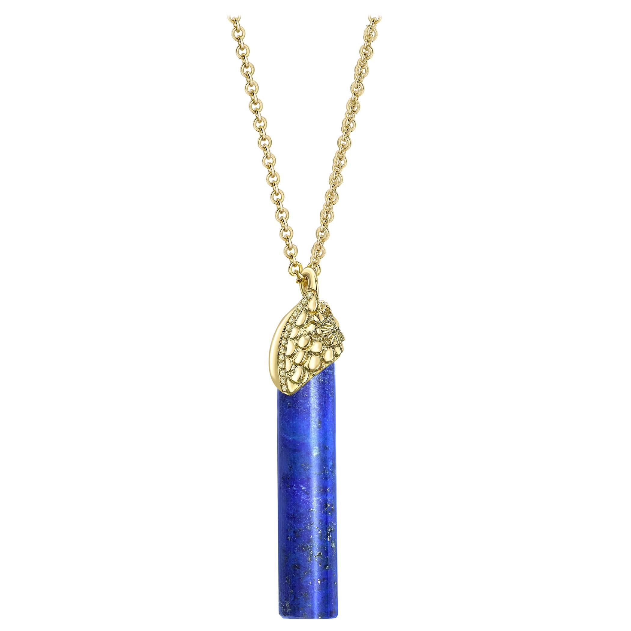 white front gold timepieces louis pendant lapis moon products jewellery diamonds vuitton lacquer s in women lazuli and eng