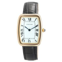 Cartier Yellow Gold Square Incurvee Wristwatch