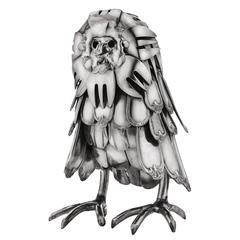 Gerard Bouvier Owl Sculpture
