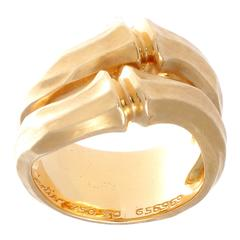 Cartier Bamboo Gold Ring
