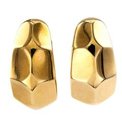 Ilario Half Hoop Gold Ear Clips