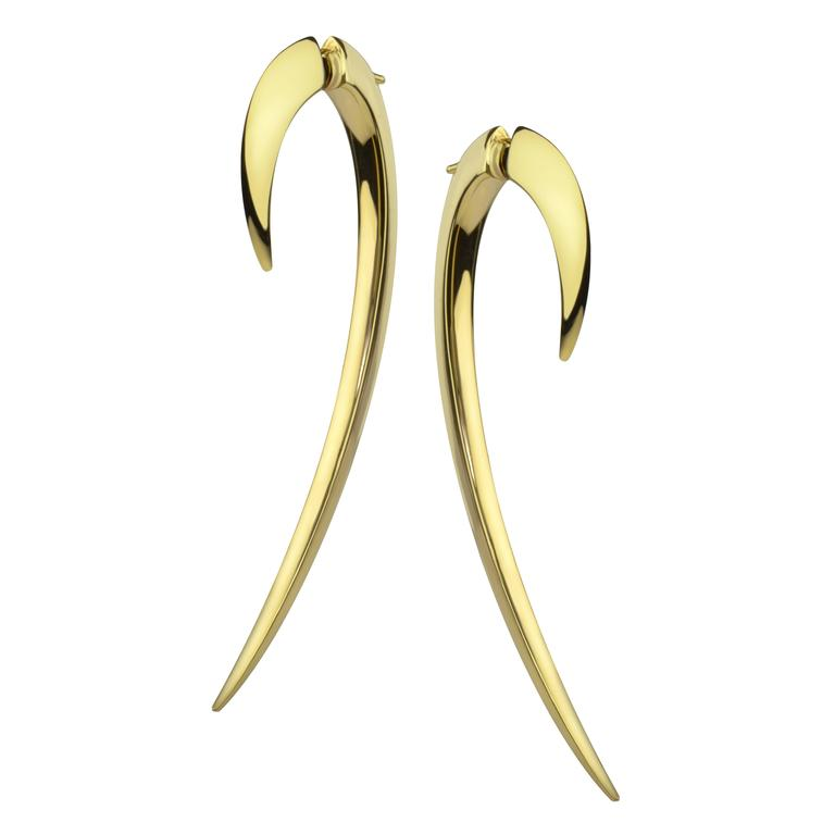 Shaun Leane 18ct Yellow Gold Hook Earring Size 2