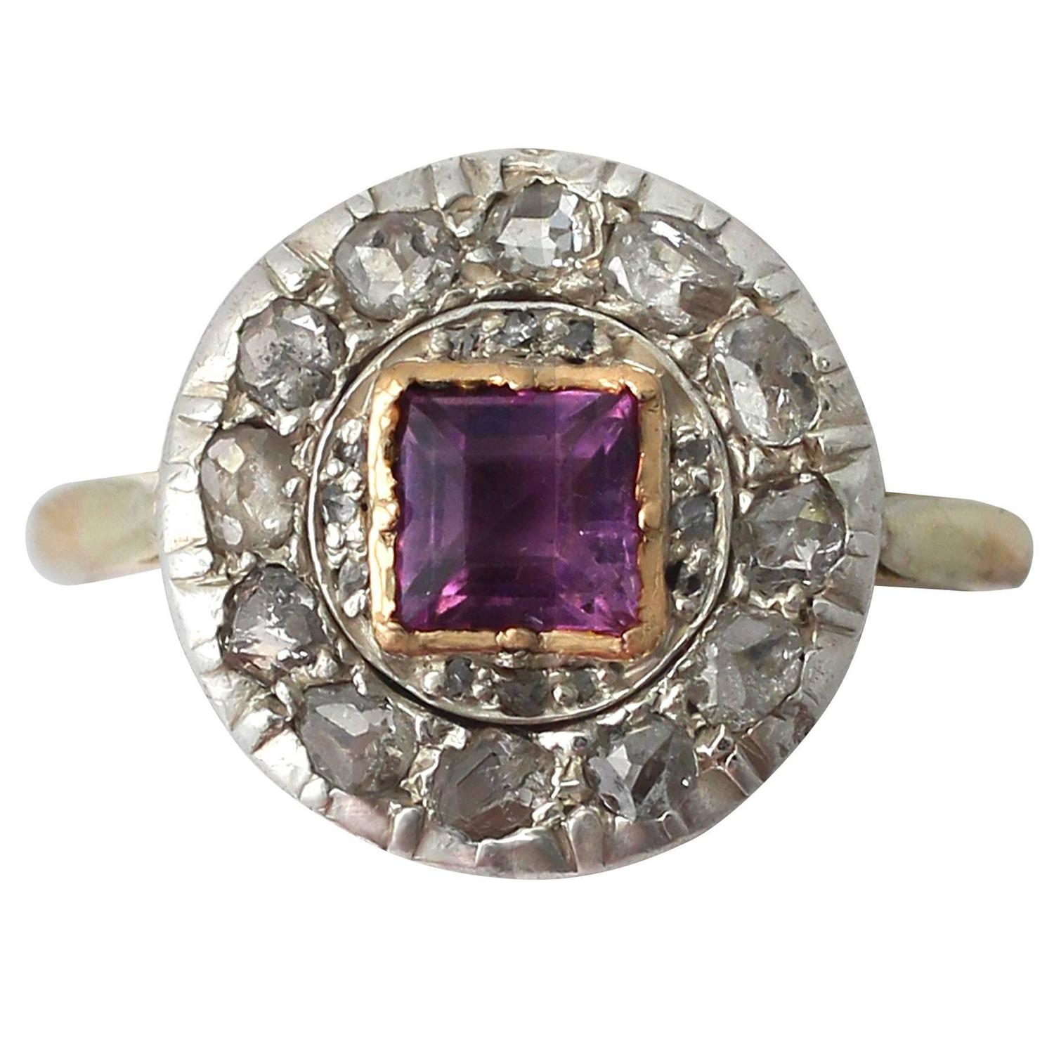 amethyst ring vintage - photo #27