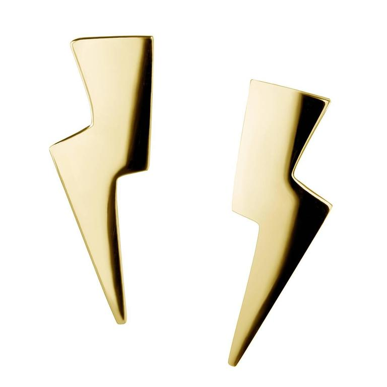 TPL Vermeil Lightning Bolt Earrings