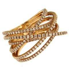 Jona Diamond Gold Band Ring