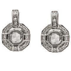Sethi Couture Diamond Gold Drop Earrings