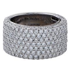 2.32 Carats Diamonds Gold Ring