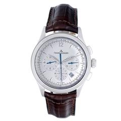 Jaeger-LeCoultre Stainless Steel Master Control Chronograph Wristwatch