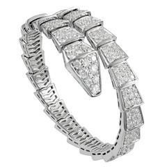 Bulgari Diamond Gold Serpenti Bracelet