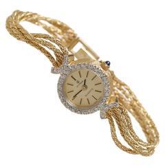 CYMA Gold Diamond Watch