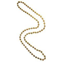 1960s Van Cleef & Arpels Gold Longchain Necklace