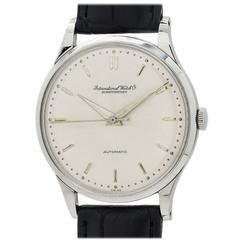 IWC Stainless Steel Automatic Wristwatch circa 1960s